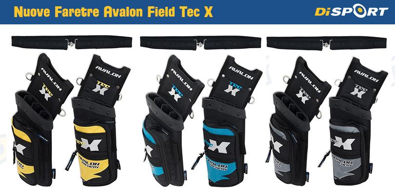 Nuove Faretre Avalon TEC X Field