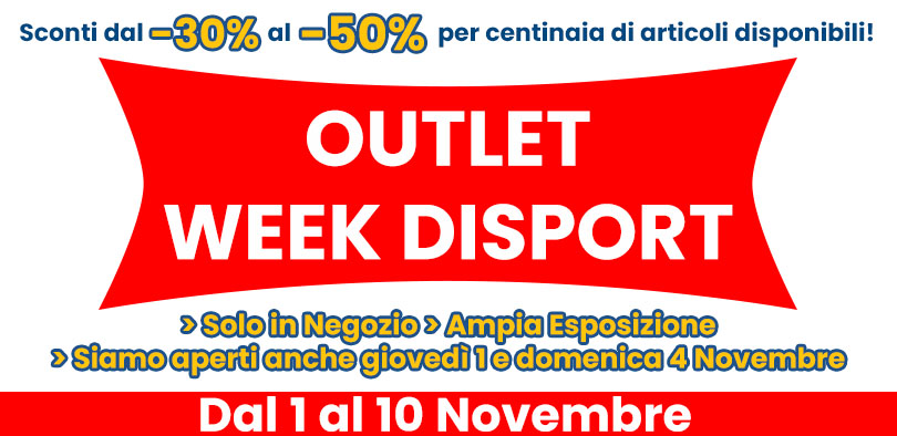 Outlet Week Disport
