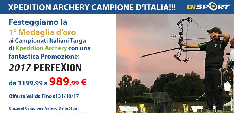 XPEDITION ARCHERY IN OFFERTA