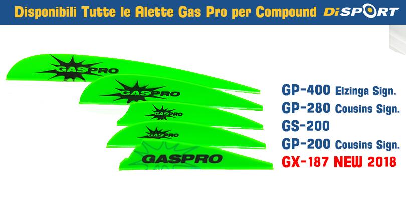 NUOVE ALETTE GAS PRO GX-187