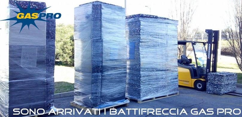 Nuovi battifreccia Gas Pro