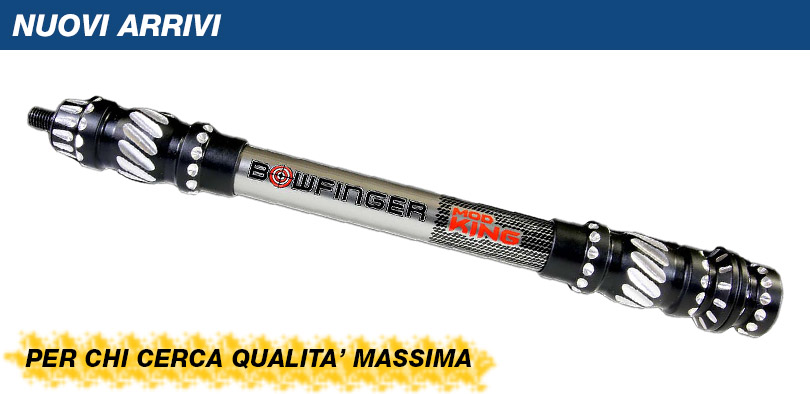 Bowfinger Stabilizzatore Mod King