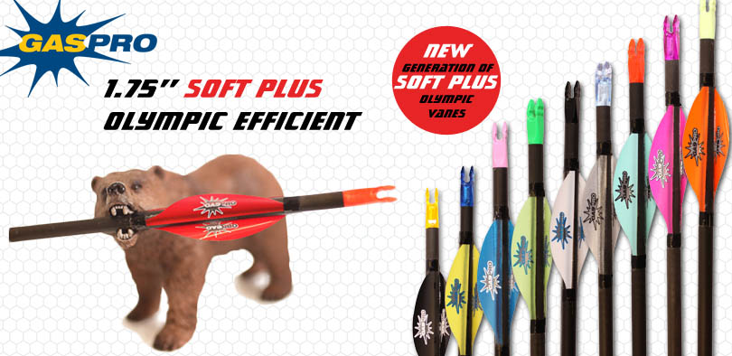 Nuove alette Gas Pro Olympic Vanes 1.75'' Soft Plus