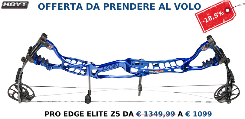 Promozione Hoyt Pro Edge Elite Z5