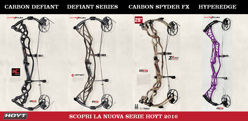 Nuova serie compound Hoyt 2016