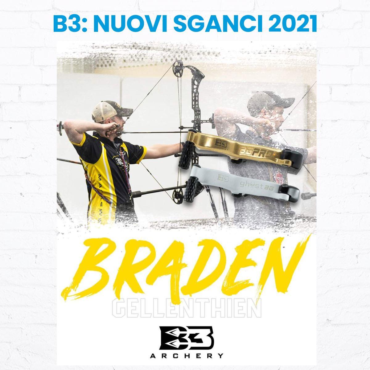 NUOVI SGANCI B3 ARCHERY, SCOPRI TUTTA LA GAMMA 2021