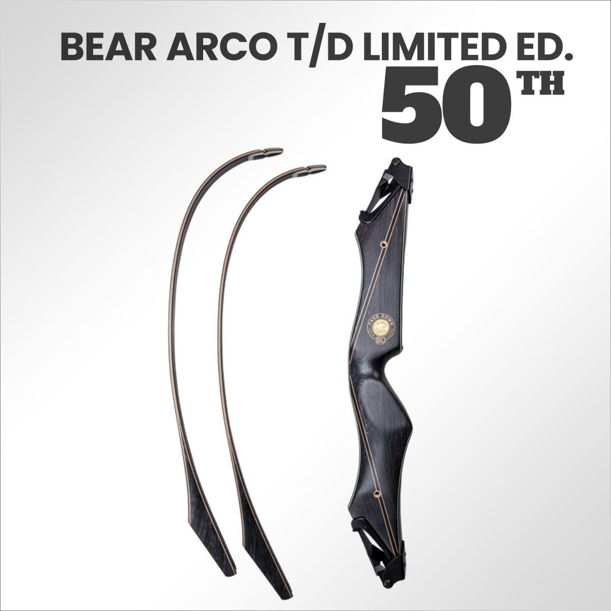 La bellezza di 50 Anni di Bear Archery in un capolavoro tradizionale