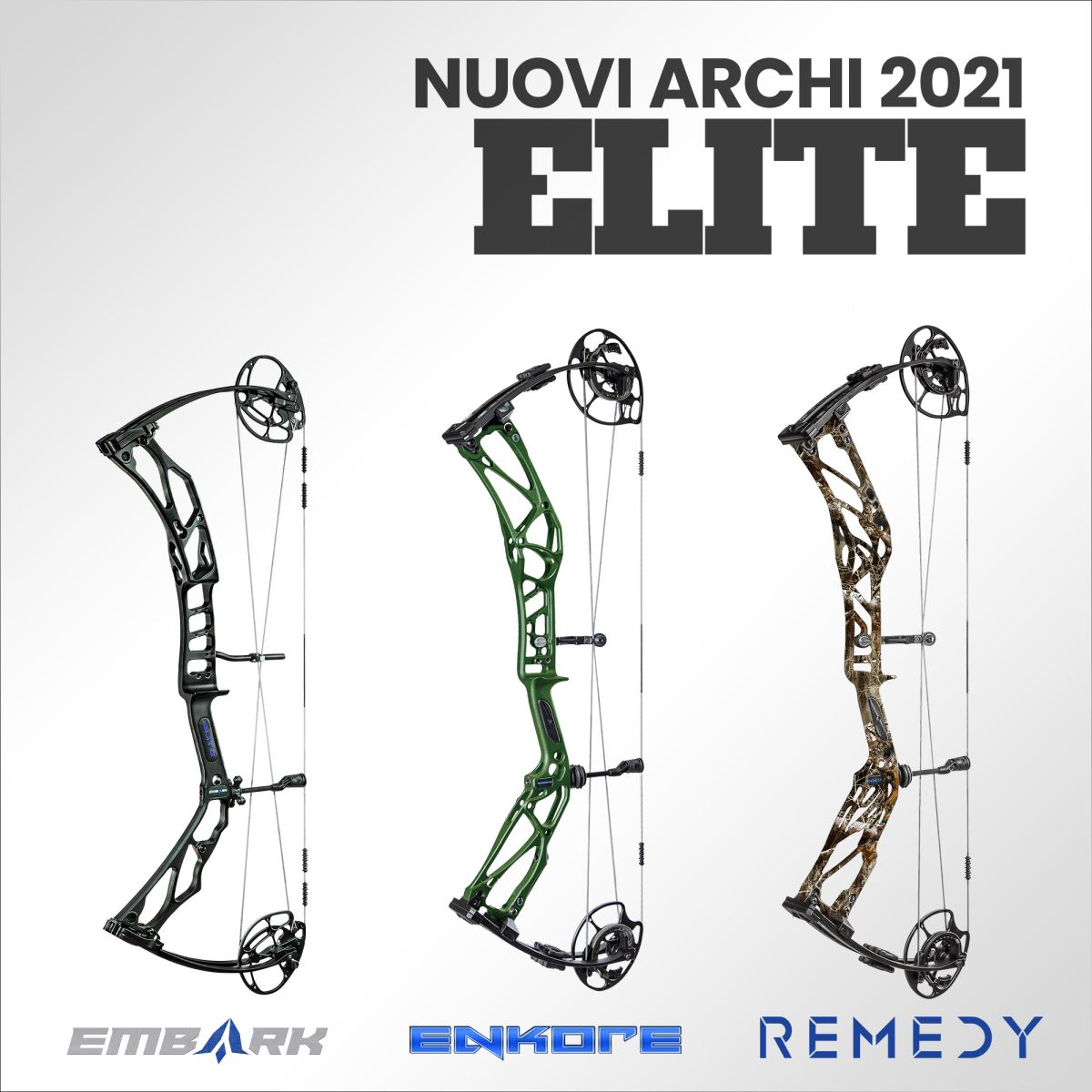Nuovi Archi Compound Elite 2021, scoprili tutti!