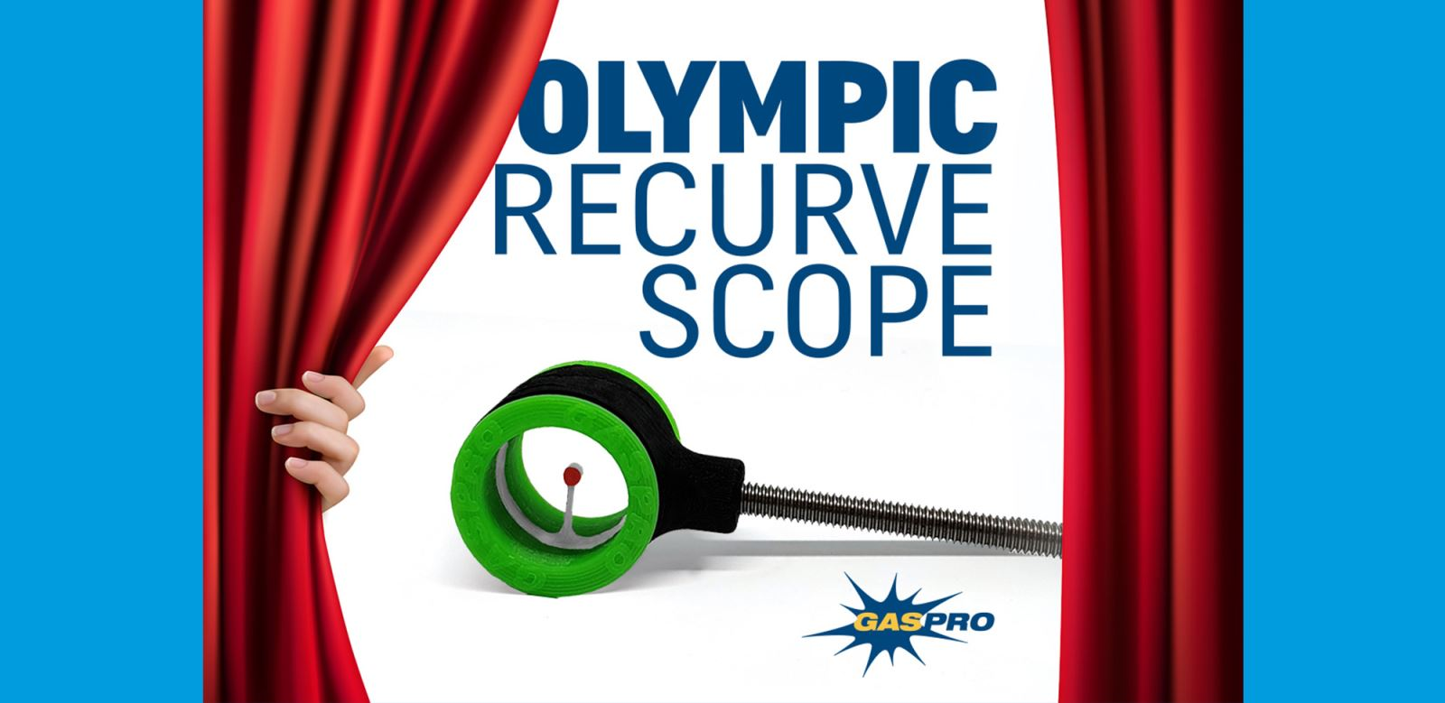 Gas Pro Olympic Recurve Scope