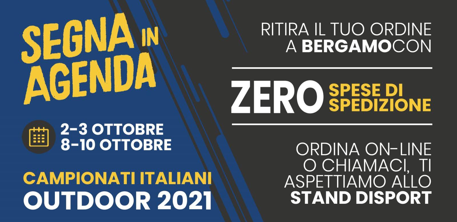 Siamo Presenti Campionati Italiani Bergamo