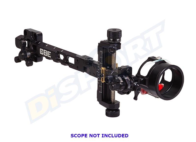 CBE MIRINO COMPOUND VERTEX 3D BLACK