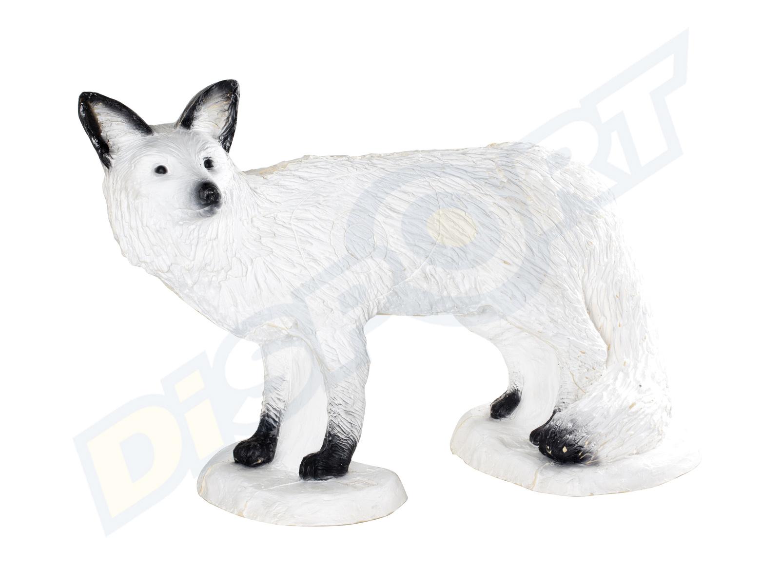 SRT TARGET 3D VOLPE IN PIEDI BIANCA 08475963