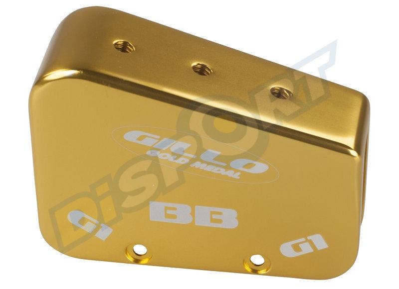 GILLO HANDLECOVER G1/ G2 / GT25 / GT27 BAREBOW ALUMINIUM GOLD 270 GRAMMS