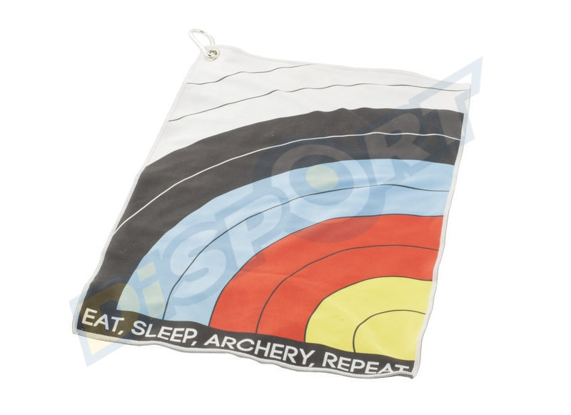 SOCX ASCIUGAMANO EAT SLEEP ARCHERY REPEAT