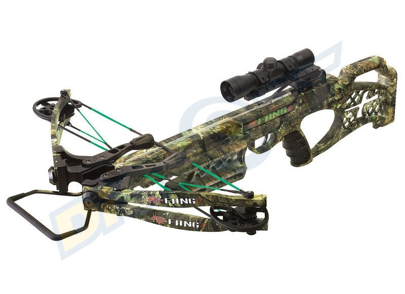 PSE BALESTRA FANG LT MOSSY OAK COUNTRY 2017 CROSSBOW PACKAGE
