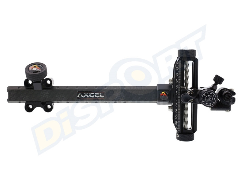 AXCEL MIRINO COMPOUND AX3000 CARBON BAR * ULTIMO MANCINO*