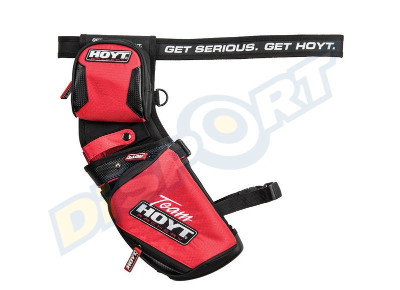 HOYT FARETRA FIELD HIP TEAM HOYT 2018 REVERSIBILE RH-LH CON CINTURA INCLUSA