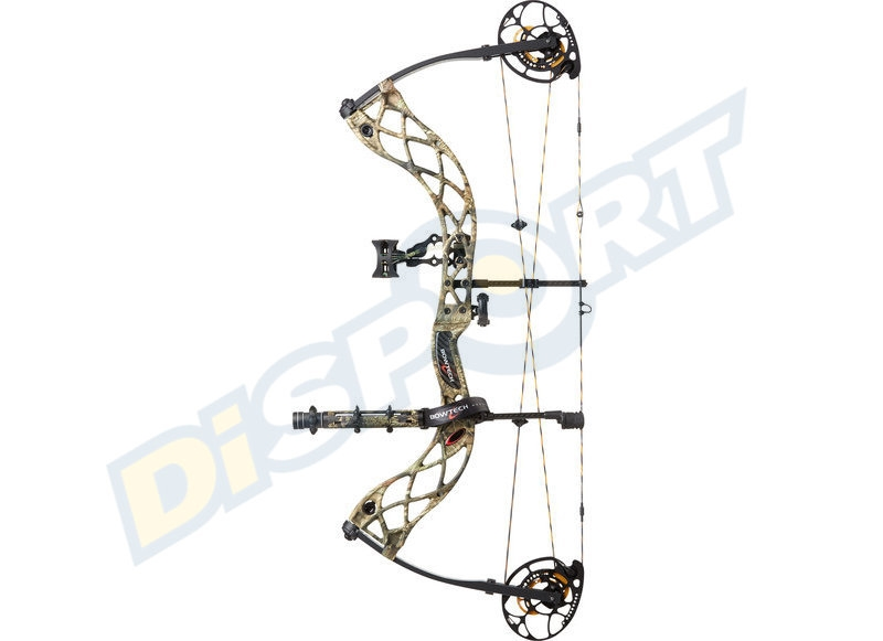 BOWTECH ARCO COMPOUND PACKAGE RAK CARBON ICON RH 26''-30''
