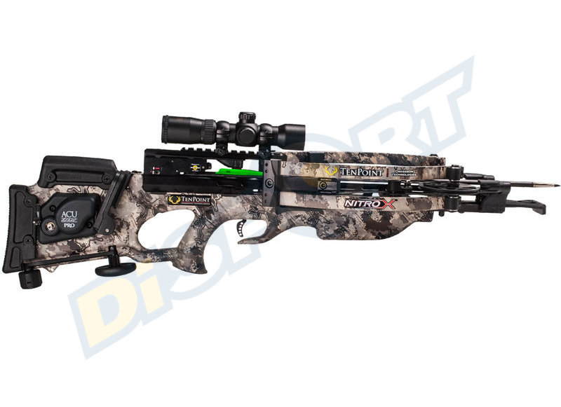 TEN POINT BALESTRA NITRO X RANGEMASTER PRO SCOPE ACUDRAW PACKAGE ELITE