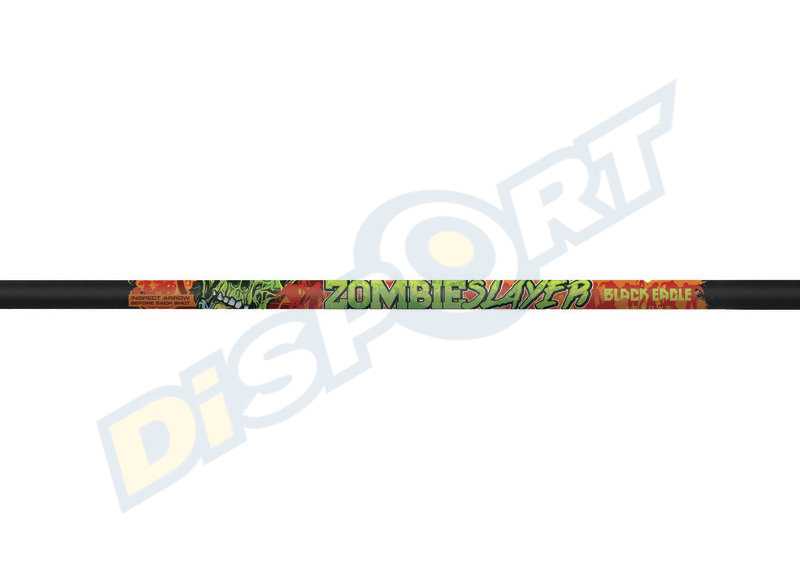 BLACK EAGLE BOLTS FLETCHED ZOMBIE SLAYER .001''