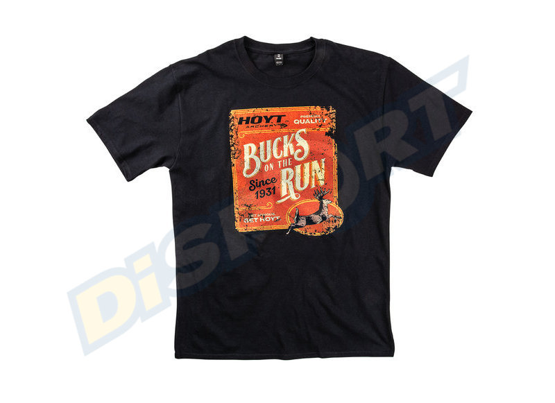 HOYT T-SHIRT UOMO BUCKS ON THE RUN
