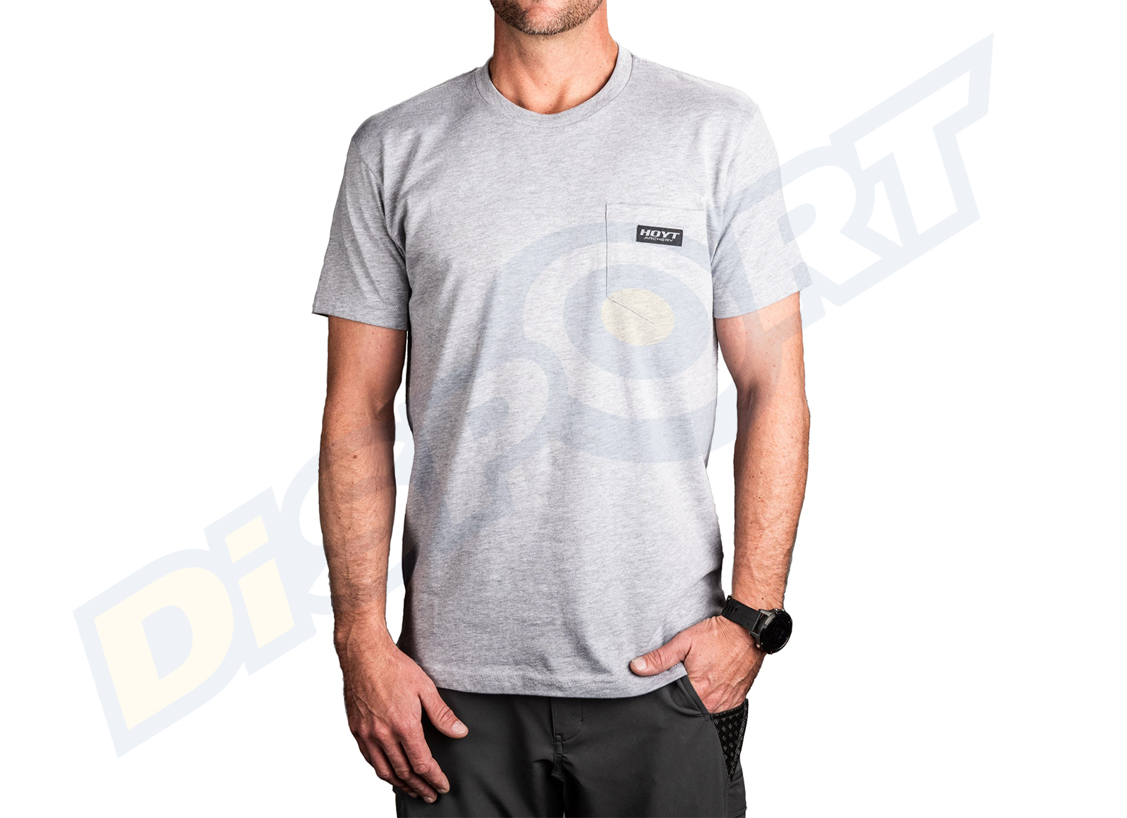 HOYT T-SHIRT UOMO POCKET PATCH