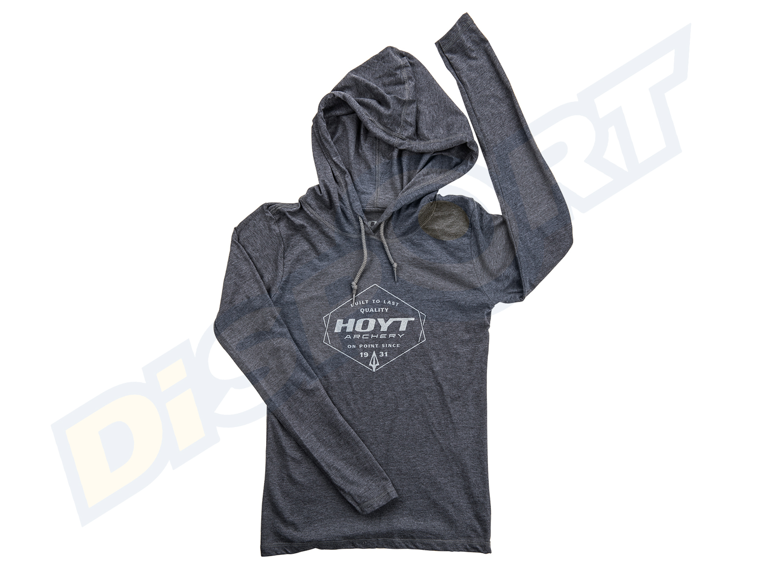 HOYT HOODED T-SHIRT DONNA LONG SLEEVE ON POINT