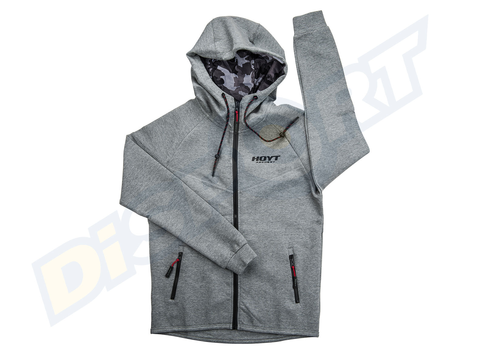 HOYT ZIPPER HOODIE UOMO LOW PRESURE