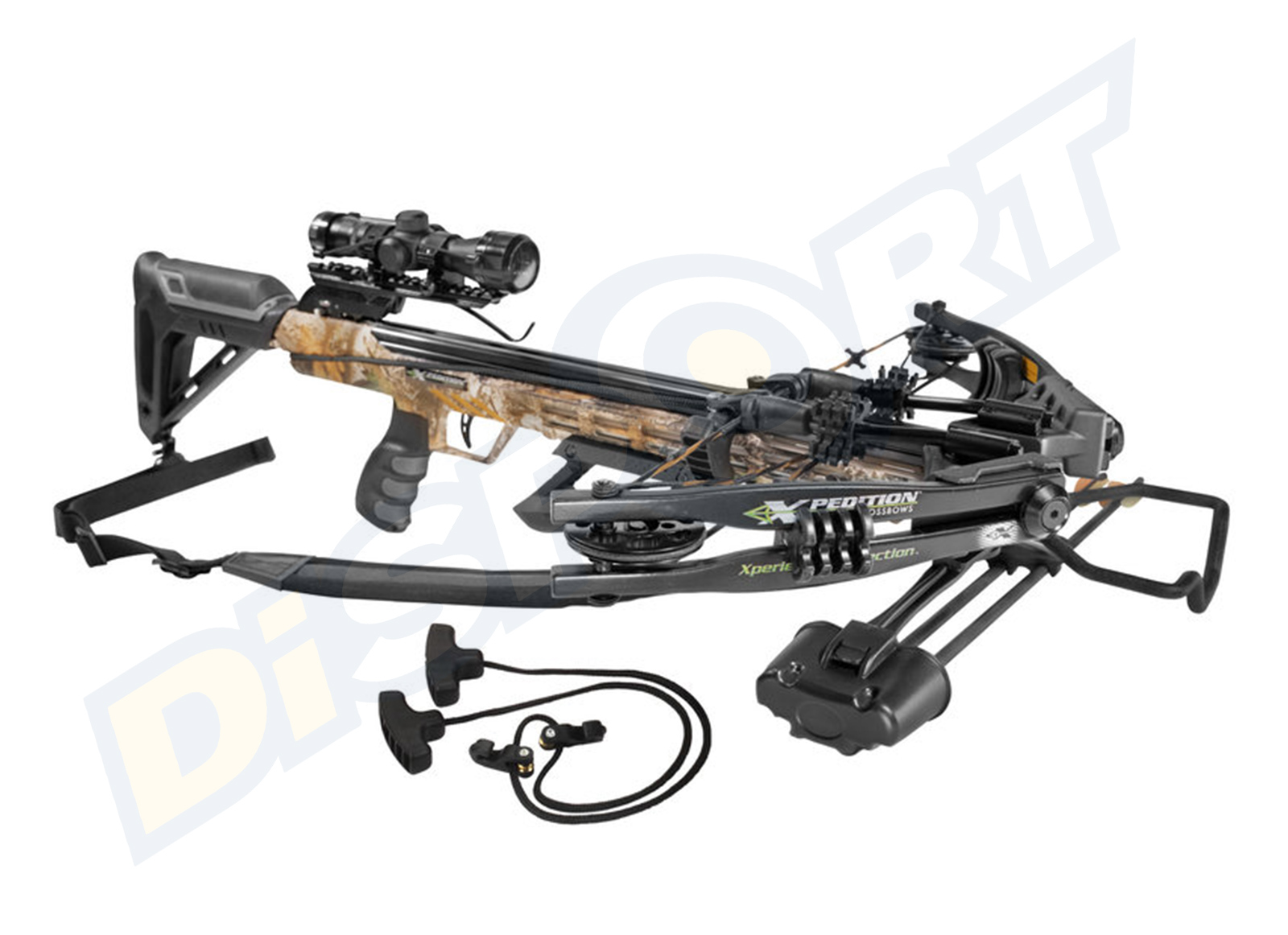 XPEDITION ARCHERY BALESTRA VIKING X-375 CROSSBOW COMBO KIT