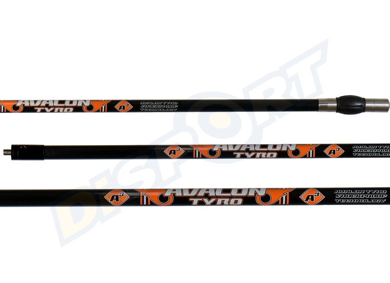 AVALON KIT STABILIZZATORE TYRO CENTRALE E LATERALI BLACK / ORANGE + V-BAR