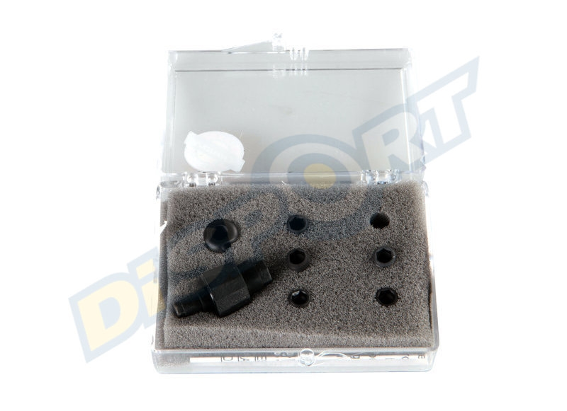 SPECIALTY A. PEEP SIGHT KIT BALL 1/32-3/64-3/32-1/16-1/8