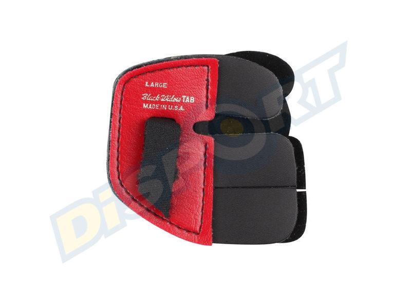 BLACK WIDOW PATELLA LEATHER BW-250 RED