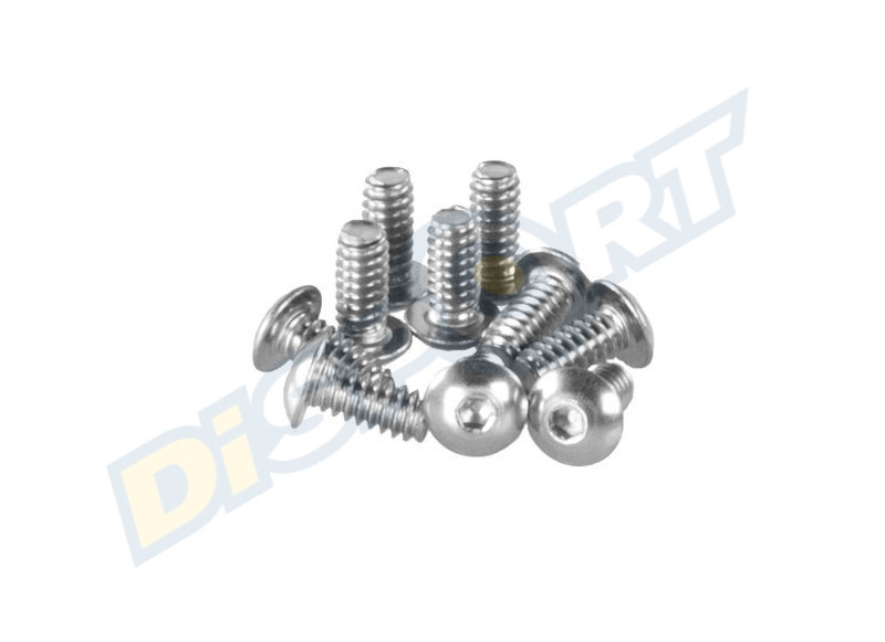 CAVALIER SCREW 6/32 VITE VITI PATELLA