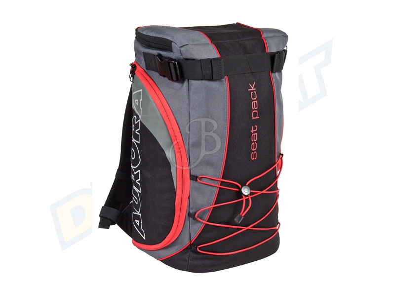 AURORA ZAINETTO SGABELLO SEAT PACK BLACK