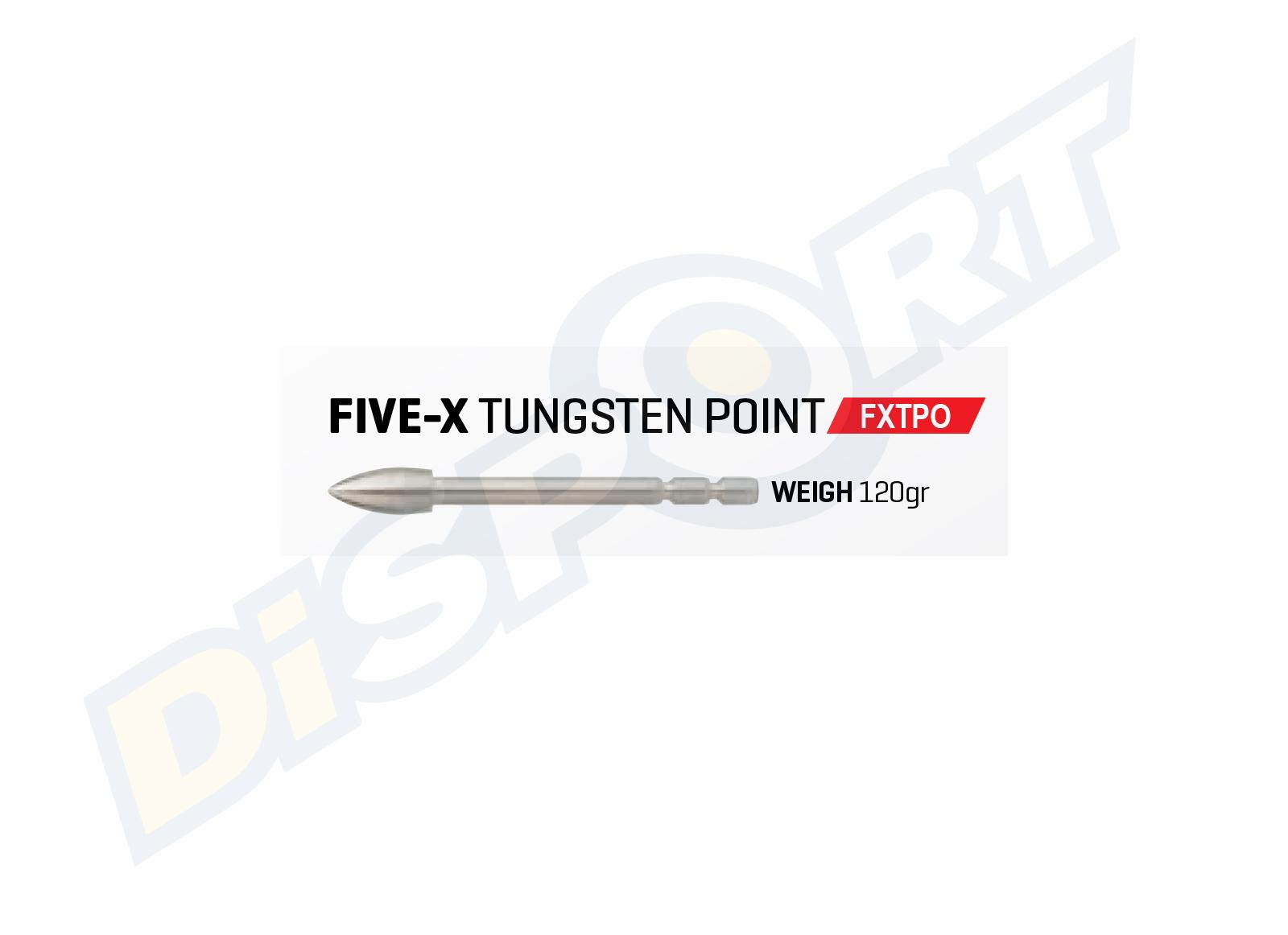 FIVICS PUNTA FIVE-X TUNGSTEN BREAK-OFF SET 12PZ