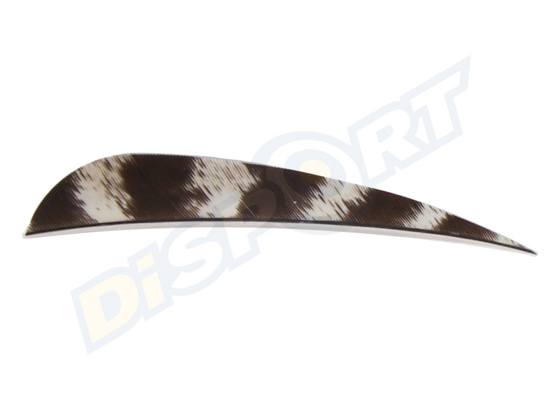 GAS PRO NATURAL TURKEY FEATHERS 4'' CONF. 50