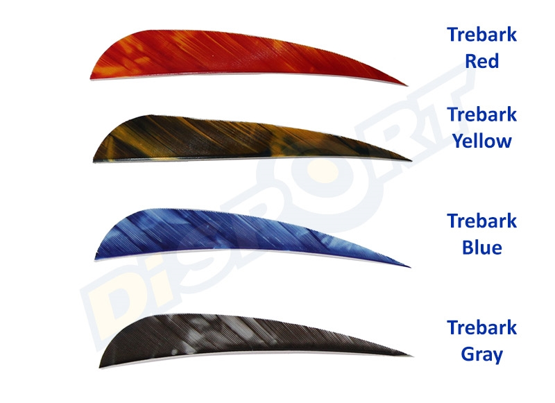 GAS PRO NATURAL FEATHERS 4'' PARABOLIC CONF. 50 TREBARK VERSION