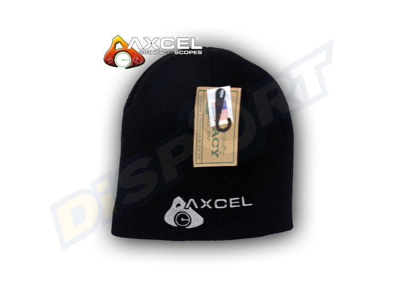 AXCEL BERRETTO MEN'S BEANIE BLACK 2018