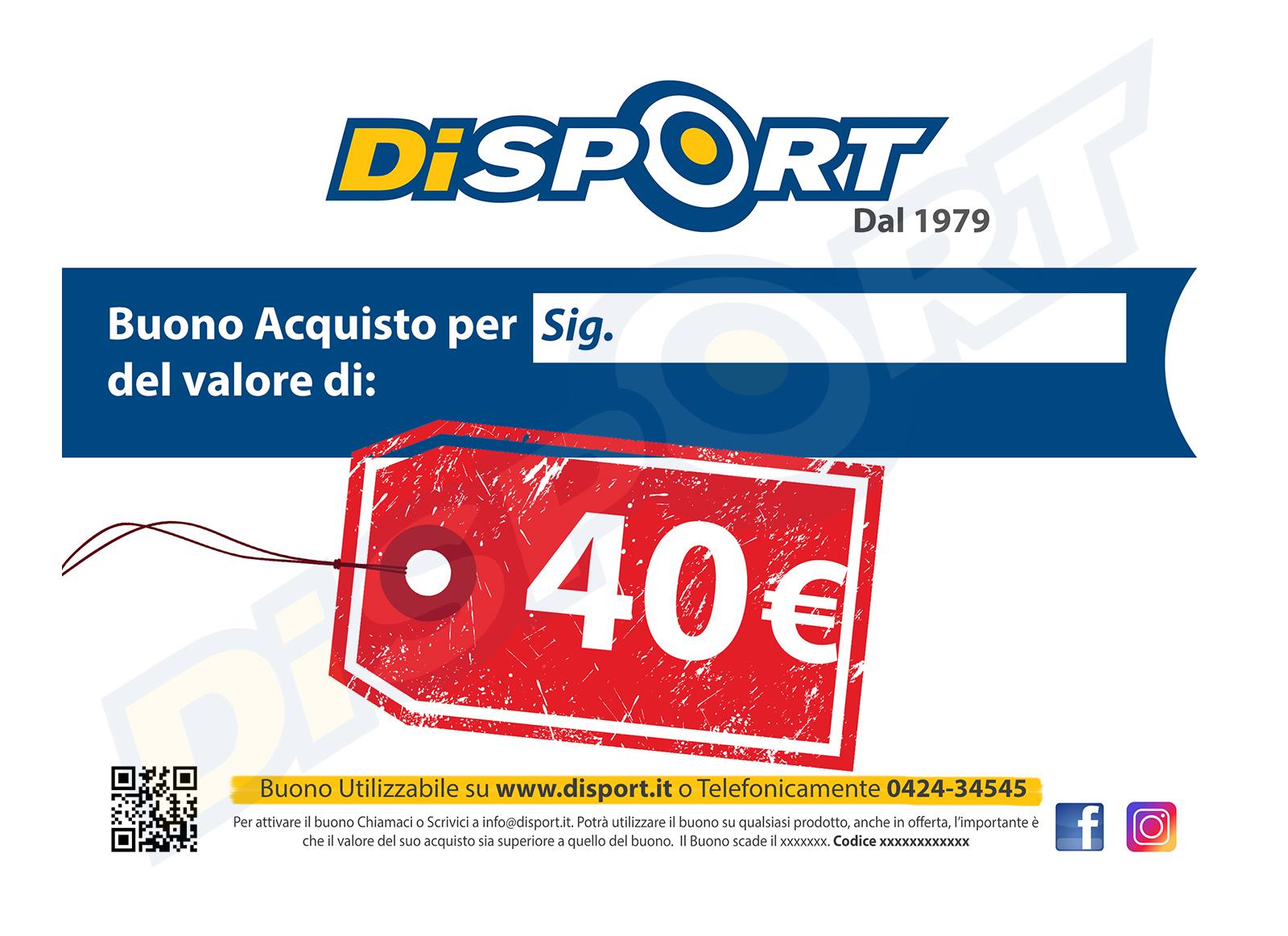 BUONO ACQUISTO 40 EURO