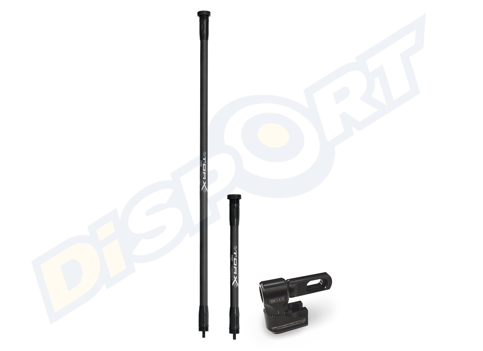 "CBE KIT STABILIZZAZIONE COMPOUND COMPLETA 30"" + 12"" CON SIDE BAR"