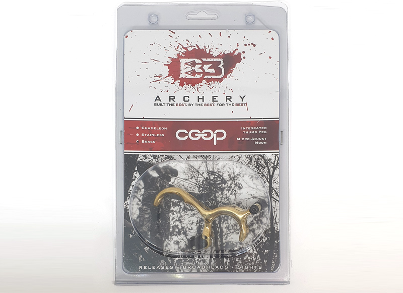 B3 ARCHERY SGANCIO BACK TENSION COOP BRASS