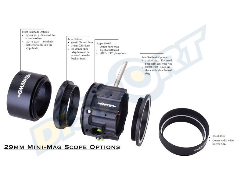 SHREWD LENS ZEISS MINI MAG 29MM PER SCOPE ESSENTIAL