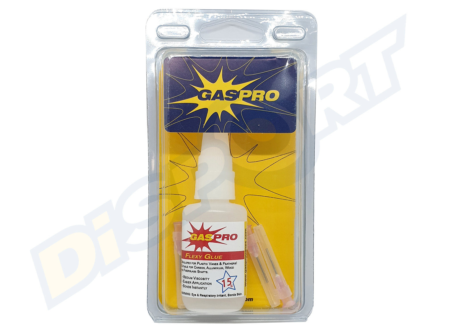 GAS PRO FLEXY GLUE 15 G WITH 3 NEEDLES