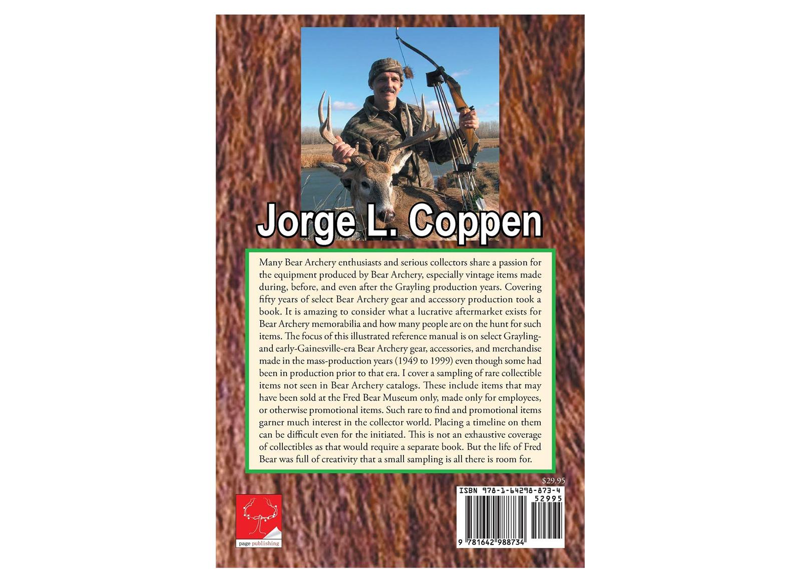 BEAR ARCHERY TRADITIONAL - LIBRO 'BEAR ARCHERY VINTAGE GEAR' DI JORGE COPPEN