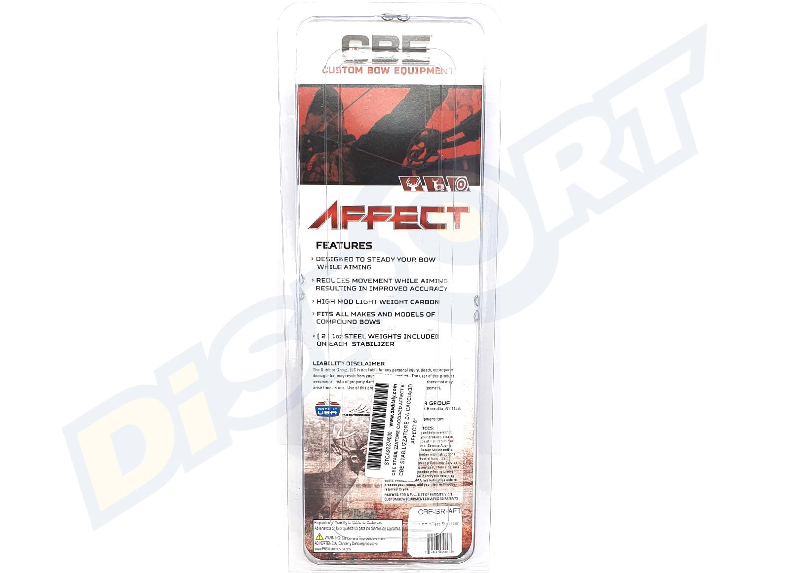 CBE STABILIZZATORE DA CACCIA/3D AFFECT 6'