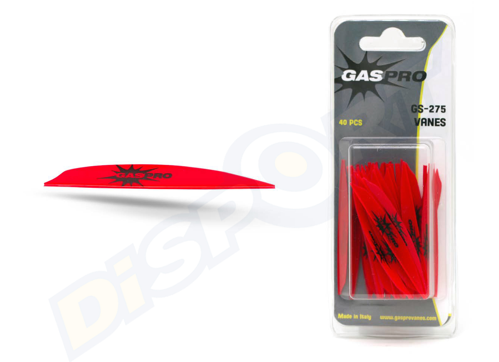 GAS PRO VANES GS-275 WITHOUT GLUE